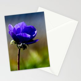 The blue Flower Stationery Cards
