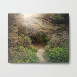 Walk With Me Metal Print