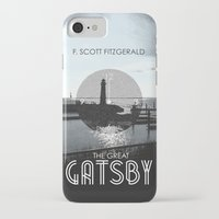 the great gatsby iPhone & iPod Cases featuring The Great Gatsby by Tanner Wheat