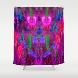 The Seer of The Ether Realm Shower Curtain