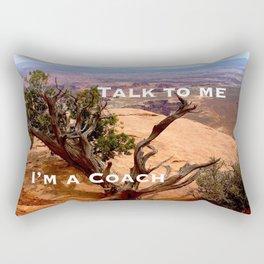 Talk to Me.... Rectangular Pillow