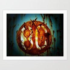 Malditos 80´s  Art Print