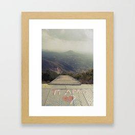 [ti amo] Framed Art Print