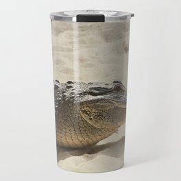 Alligator Photography | Reptile | Wildlife Art Travel Mug