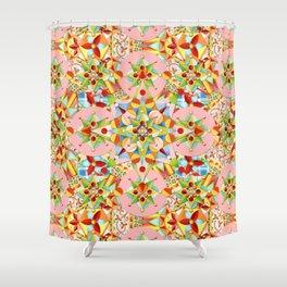 Arabesque Carousel Shower Curtain