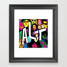 ALT1 by Steven Fiche Framed Art Print