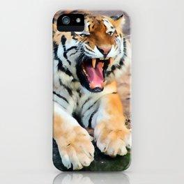 Roaring Tiger iPhone Case