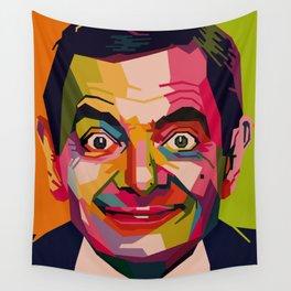 WPAP - Mr. Bean Wall Tapestry