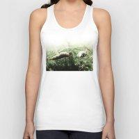 grass Tank Tops featuring grass by emegi