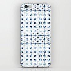 tiles - Portuguese azulejos  iPhone & iPod Skin