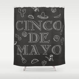 Happy Cinco De Mayo Festival Shower Curtain