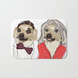 Celebrity Dogs-Ryan Chew-Crest & Kelly Ruff-A Bath Mat