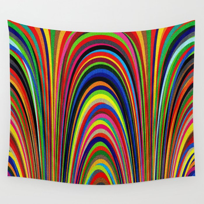 Colorful Arches Wall Tapestry
