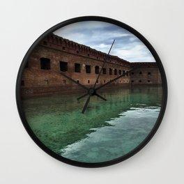 Fort Jefferson Wall Clock