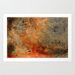 Rust Texture 70 Kunstdrucke