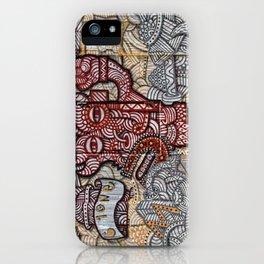 Wall-Art-024 iPhone Case