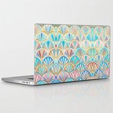 Vintage Twenties Art Deco Pastel Pattern Laptop & iPad Skin