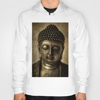 meditation Hoodies featuring Meditation by inkedsandra