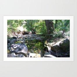 Hidden Creek Adventure Art Print
