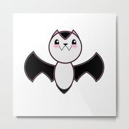 Bat Girl Metal Print