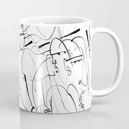 Therapy - b&w Coffee Mug