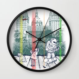 God Bless You, Kurt Vonnegut! Wall Clock