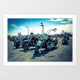Biker's Meeting, El Paso - EPBM03 Art Print