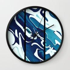 Earth's Oceans Wall Clock