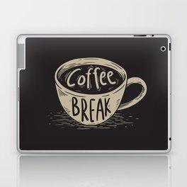 Coffee Break Painting Artwork Laptop & iPad Skin