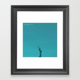 The Bergamot One Mile Framed Art Print