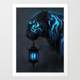 Blue Lantern Kunstdrucke