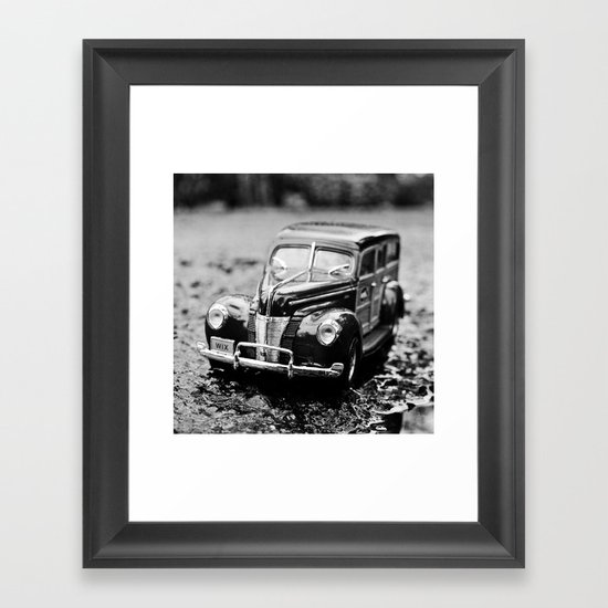 Ford closeup Framed Art Print