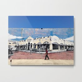 Old Downtown Clearwater Metal Print
