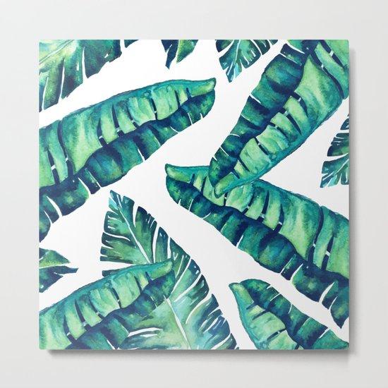 Tropical Glam #society6 #decor #buyart Metal Print