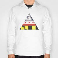 maryland Hoodies featuring Maryland by Jason Douglas Griffin