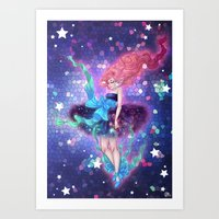 prism Art Prints featuring Prism by Roots-Love