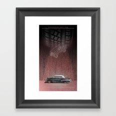 CHEVROLET BEL AIR Framed Art Print