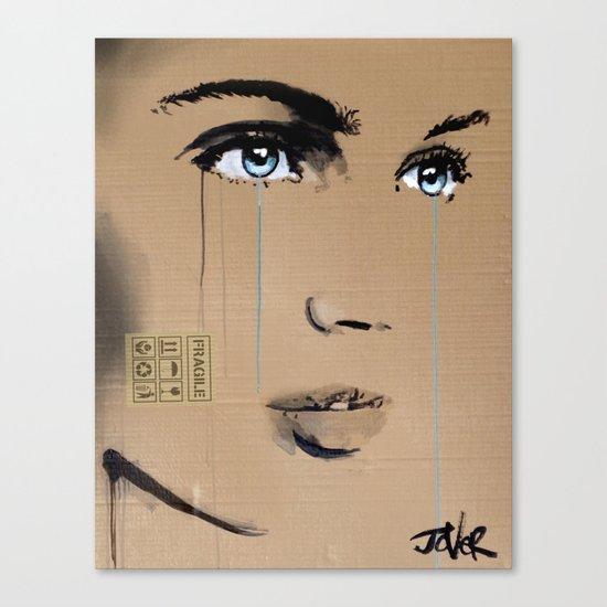 FRAGILE GRAFFITI Canvas Print