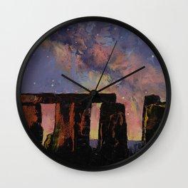 Stonehenge Wall Clock