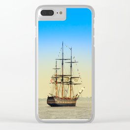 Sail Boston - Oliver Hazard Perry Clear iPhone Case