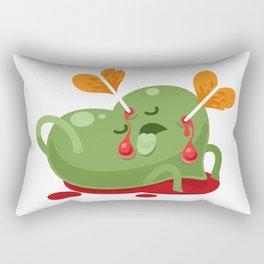 Dead Valentines heart Rectangular Pillow