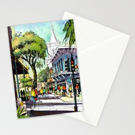 Duval Street, Key West Stationery Cards
