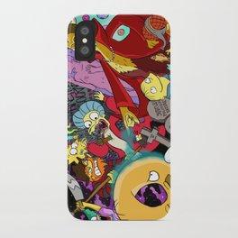 Simpsons Halloween Bonanza iPhone Case