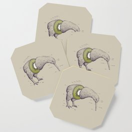 Kiwi Anatomy Coaster