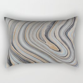 Marbled Rectangular Pillow