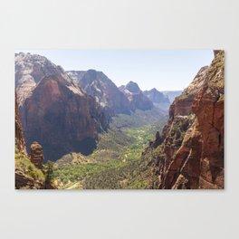 Zion Canyon Canvas Print