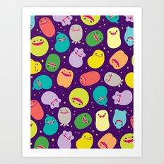 Germusu Germy Repeat Art Print
