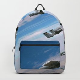 BEAUTIFUL AIRPLANE FORMATION Backpack