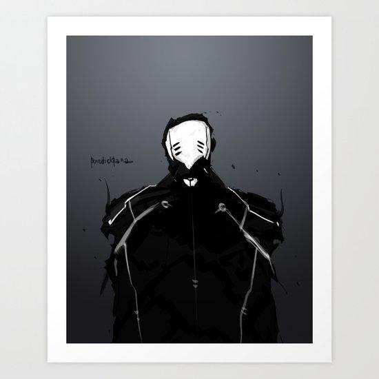 Maskmen no.1 Art Print