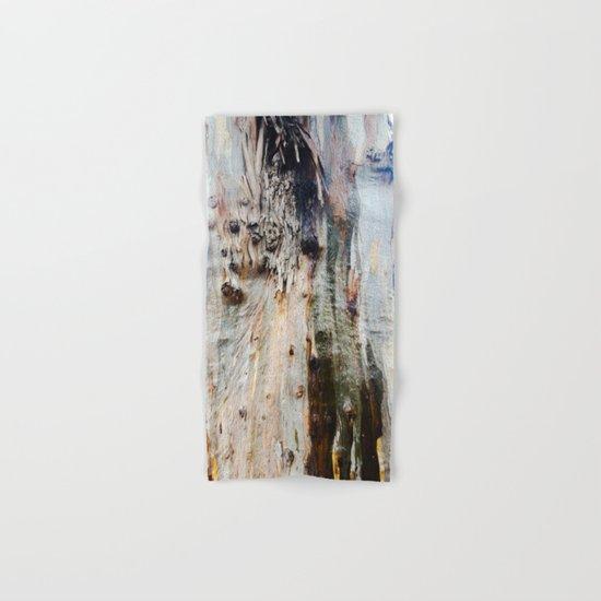 Colors of a Eucalyptus Hand & Bath Towel